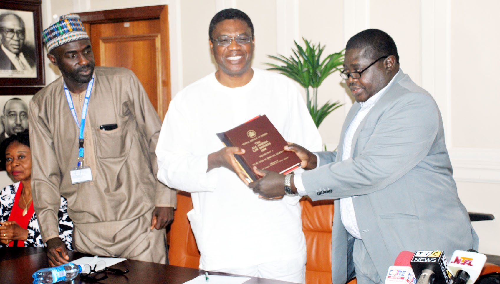 Federal Ministry Of Justice Donates Journals To Bingham University