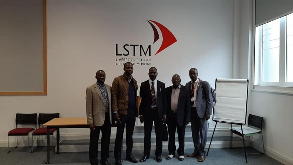 The Vice Chancellor, Prof. W. B. Qurix, Ofr, Visits Liverpool School Of Tropical Medicine (Lstm) Uk