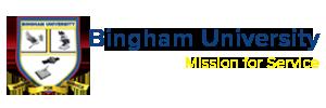 bingham university logo